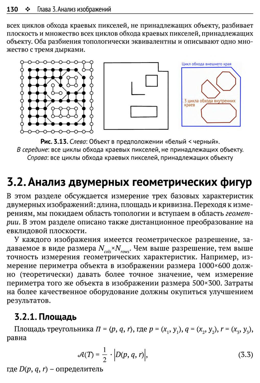 3.2. Анализ двумерных геометрических фигур