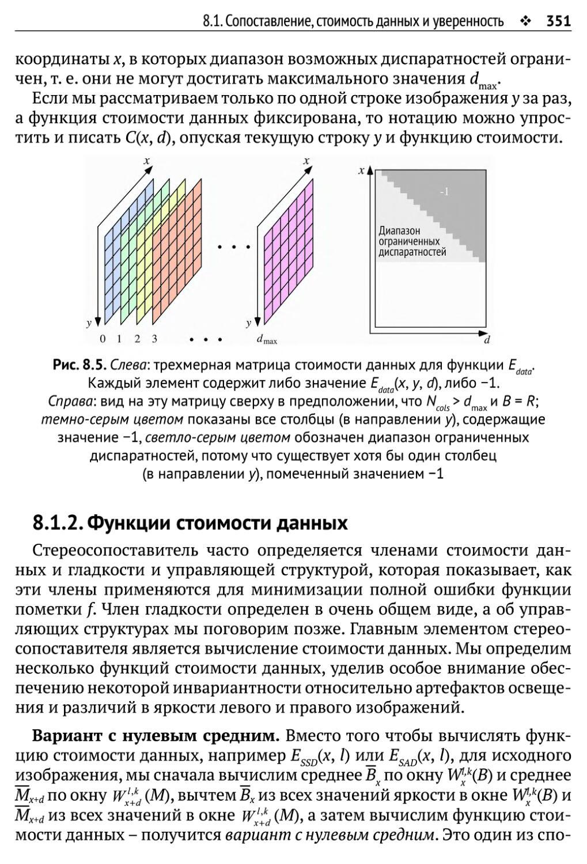 8.1.2. Функции стоимости данных
