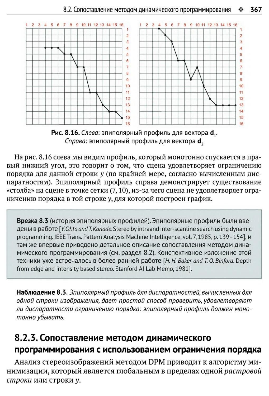 8.2.3. Сопоставление методом динамического программирования с использованием ограничения порядка
