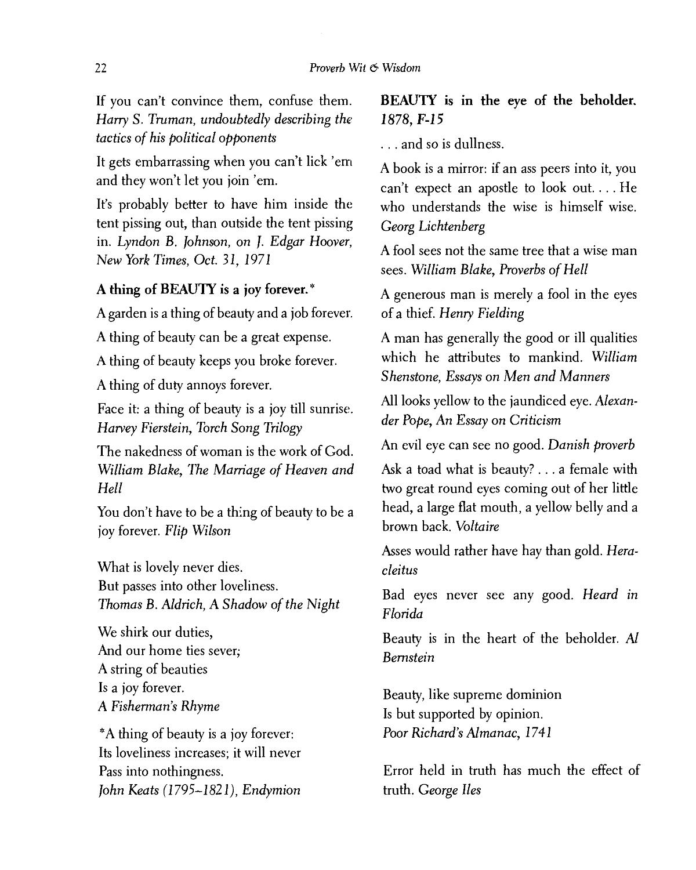 Proverb Wit And Wisdom By Louis A Berman Z Lib Org